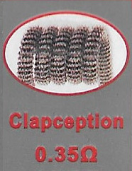 Clapception Coils - 0.35 Ohm